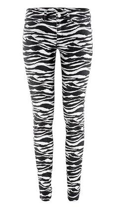Zebra print pants (WANT!!!!!!!!)
