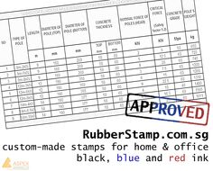 Rubber Stamps also have custom-made stamps for home & office! Get them from us today! http://www.rubberstamp.com.sg/