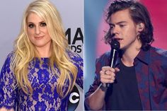 | MEGHAN TRAINOR WORKED WITH ONE DIRECTION HARRY STYLES | http://www.boybands.co.uk