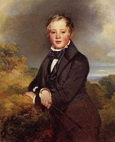 Franz Xaver Winterhalter   Portrait of Ludwig, Graf von  Langenstein