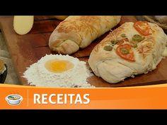 Santa Receita | Mini Curso de panificação: baguetes recheadas por Júlio Cruz - 21 de fevereiro - YouTube