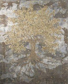 "Saatchi Online Artist Gian Luigi Delpin; Painting, ""suddenly, fall"" #art"