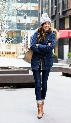 100 Fall Outfits to Copy Right Now #parkaoutfit