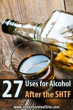 Most preppers dont bother stocking alcohol, but this is a huge mistake. Alcohol could mean the difference between life and death for you and your family. via Urban Survival Site Survival Supplies, Survival Food, Outdoor Survival, Survival Knife, Survival Prepping, Emergency Preparedness, Survival Skills, Survival Weapons, Survival Hacks