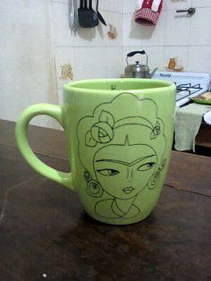 Taza Frida color