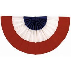 Red White and Blue Bunting Medium #patriotic