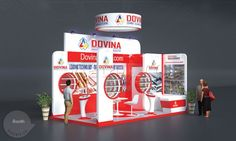 Hình ảnh thiết kế gian hàng triển lãm kim loại màu DOVINA. http://thietkegianhanghoicho.com/san-pham/gian-hang-trien-lam-kim-loai-mau-dovina/