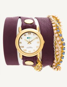 Todays Coveted Working Look: La Mer Collections Wrap Watches