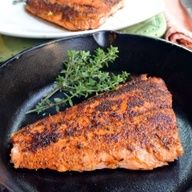 Blackened Salmon Blackened Salmon adapted from This Mama Cooks 2 teaspoons Garlic Salt 1 teaspoon Paprika 1 teaspoon Onion Powder 1 teaspoon Oregano 1 teaspoon Black Pepper teaspoon Cayenne Pepper teaspoon Thyme 2 pounds Salmon Salmon Dishes, Fish Dishes, Seafood Dishes, Salmon Food, Main Dishes, Fish Recipes, Seafood Recipes, Cooking Recipes, Healthy Recipes