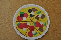 The kids will love making pizzas while learning about equivalent fractions