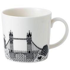 Royal Doulton - Charlene Mullen London Calling Tower Mug