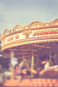 fairground carousel horses fPOE Gift Idea Home by janepackard