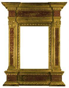 Gusseisen-Spiegel im Nouveau Stil