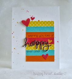 Happy Heart Studio: Another Summer Card Camp 2 card