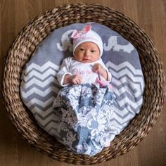 newborn infant  Baby layette beanie personalized boutique custom set wholesale gown shower picture gift shower first pictures home outfit