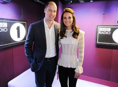 8 Things We Learned When Kate Middleton and Prince William Filled in as Radio DJs Duchess Kate, Duke And Duchess, Duchess Of Cambridge, Princess Kate, Princess Charlotte, Kendall Jenner Boots, Kate Middleton Style, Romantic Look, Beautiful Wife