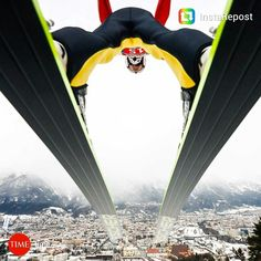 Severin Freund of Germany in Innsbruck, Austria, for the FIS Ski Jumping World Cup 1-4-15