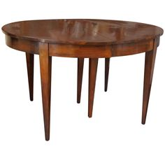Fruitwood 19th Century Directoire Dining Table