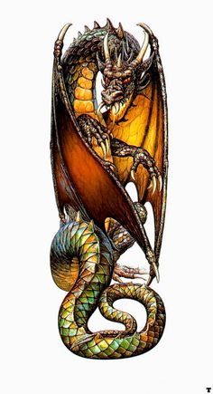 Dragon by Ciruelo Cabral, one of my all time favorite fantasy artists (who I had the luck to meet!)