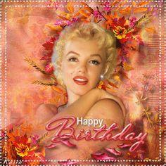 Happy Birthday From Marilyn