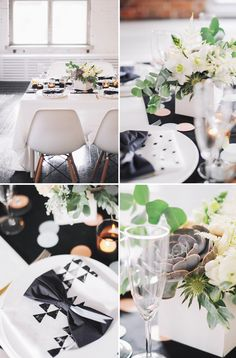 Jolis deco à pois  HEY LOOK: wedding