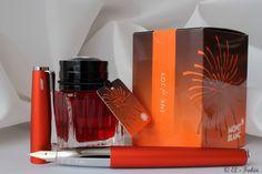 LAMY Studio Royal Red w/ Montblanc Ink of Joy (Orange)