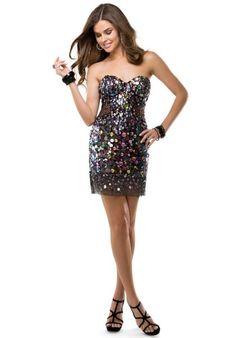 Flirt Dress P5865 at Peaches Boutique