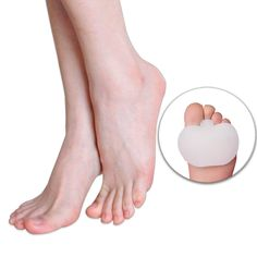 Efficient 1pair Finger Protector Silicone Gel Pointe Toe Cap Cover For Toes Soft Pads Protectors For Pointe Ballet Shoes Feet Care Tools High Quality And Low Overhead Foot Care Tool
