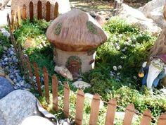 gnomb gardens | Enchanted Fairy Gardens: New Mushroom Miniature Gnome Garden