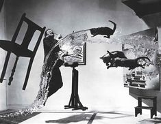 Dalí Atomicus   100 Photographs   The Most Influential Images of All Time Salvador Dali Photography, Surrealism Photography, Portrait Photography, Photography Ideas, Surrealism Art, Inspiring Photography, Image Photography, Magnum Photos, Famous Portrait Photographers