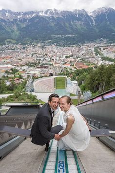 Congrats to Andreas Kofler and Mirjam on getting married. All good wishes. Ski Jumping, Austria, Getting Married, Skiing, Sport, Ski, Deporte, Sports