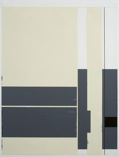 """Mark Williams, """"Untitled (1024),"""" 2010, oil enamel paint and paper on Mylar, 24 x 18 inches (61 x 45.7 cm) © 2012 Mark Williams"""