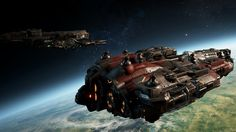 Ever wanted to pilot a MASSIVE spaceship? Ever wanted to use that MASSIVE spaceship to kill other MASSIVE spaceships? Ahh, Dreadnought is the game . Capital Ship, Warfare, Spaceship, Sci Fi, Ships, Space Ship, Science Fiction, Boats, Spacecraft