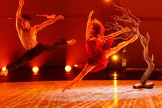 """All-star dancer Alex Wong and top 10 contestant Eliana Girard perform a Contemporary routine to """"Bang Bang"""" choreographed by Stacey Tookey on SO YOU THINK YOU CAN DANCE."""
