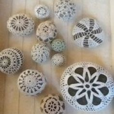 """Check out """"the rock project"""" on Facebook. Decorated rocks hidden for unsuspecting people to find and enjoy."""