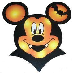 Disney Halloween Decoration - Mickey Mouse Vampire Window Decor