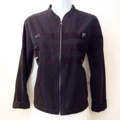 John Eshaya canvas majorette jacket. Size Small. Please call (949)715-0004 for inquiries.