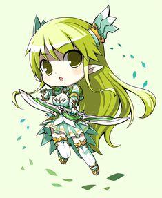 Chibi Grand Archer - elsword Fan Art