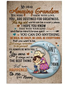 Grandson Birthday Quotes, Grandson Quotes, Quotes About Grandchildren, Family Gifts, Love Gifts, Family Quotes, My Children, Birthday Wishes, Frases