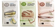 Doves Farm Organic Flour — The Dieline - Branding & Packaging