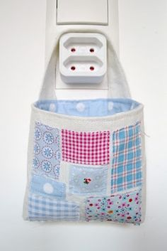 Little Fabric Bag - Mobile Charging Station