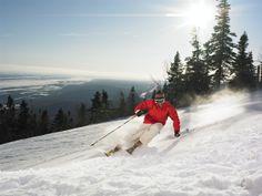 Alpine at Mont-Sainte-Anne alpin au Mont-Sainte-Anne Photo : Camirand Ski // Ski Quebec Ski And Snowboard, Snowboarding, Austrian Ski Resorts, Mont Sainte Anne, L Office, Alpine Skiing, Cross Country Skiing, Quebec City, Vancouver Island