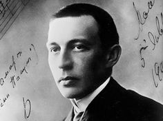 Sergey Rachmaninov- Russian composer, -some of my most favourite classical music