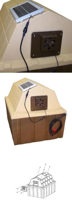 Energy Efficient Home Upgrades in Los Angeles For $0 Down -- Home Improvement Hub -- Via - Dog Houses 108884: Asl Solutions Dog House Solar Powered Exhaust Fan Direct Sunlight Choose Size -> BUY IT NOW ONLY: $61.97 on eBay!