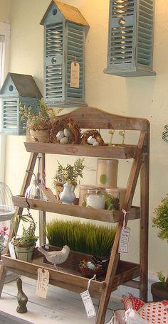 farmhouse fresh display ideas
