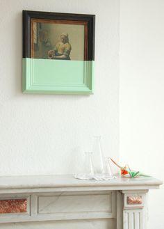 (Re)peindre la laitière   Auguste & Claire