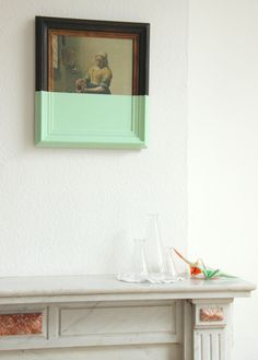 La Laitiere Vermeer - Upcycling frame