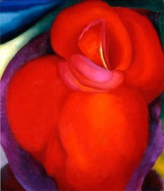 'Red Flower' (1919) by Georgia O'Keeffe