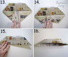 how to fold a newspaper hat 4 w Army Crafts, Hat Crafts, Craft Stick Crafts, Crafts For Kids, Christian Crafts, Christian Kids, Christian Songs, Newspaper Hat, Newspaper Crafts