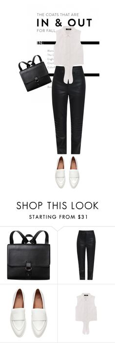 """""""Monochrome"""" by perilousness-fashion on Polyvore featuring Monki and Charlie May"""